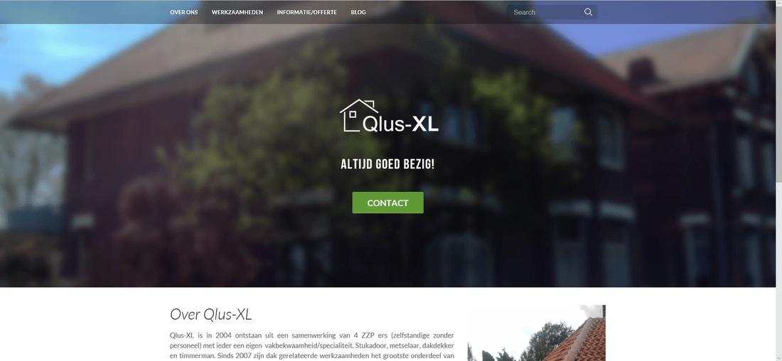 Website Qlus XL